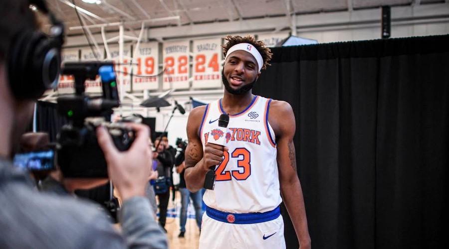 Knicks super big lineup mitchell robinson