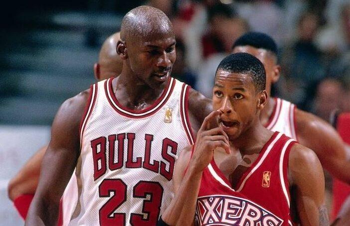 Michael Jordan Allen Iverson