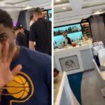 NBA – L'incroyable avion des Pacers