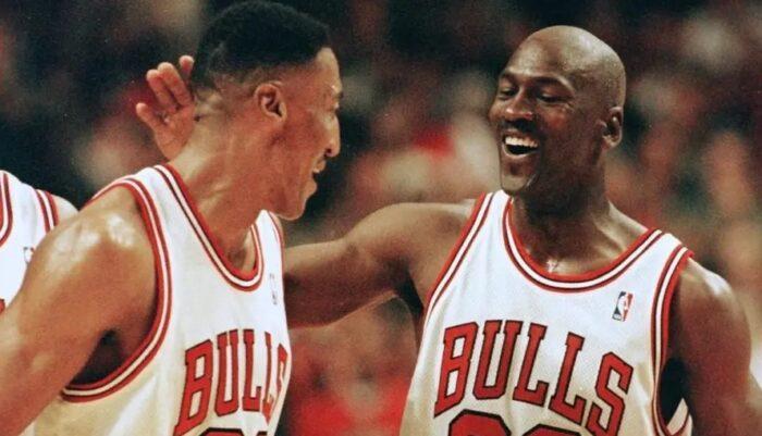 Scottie Pippen Michael Jordan