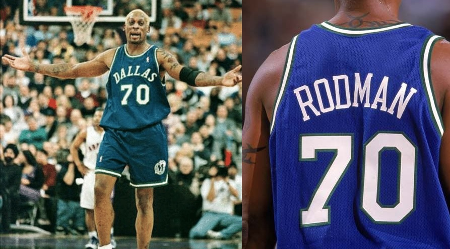 Dennis Rodman Dallas