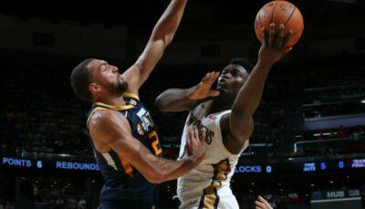 NBA – La sale soirée de Rudy Gobert face à Zion Williamson
