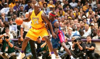 Shaquille O'Neal Ben Wallace