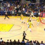 NBA – Le premier tir complètement manqué par Steph Curry au Chase Center