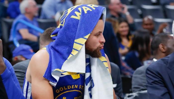Du jamais vu depuis 2010 pour Stephen Curry