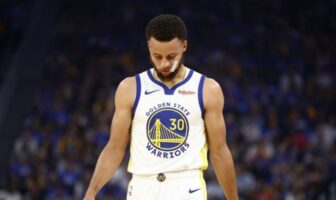 Stephen Curry blessure 2019