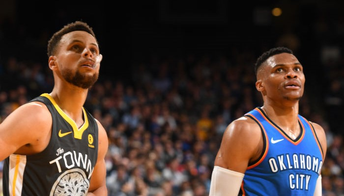 Kevin Durant Stephen Curry Russell Westbrook avis