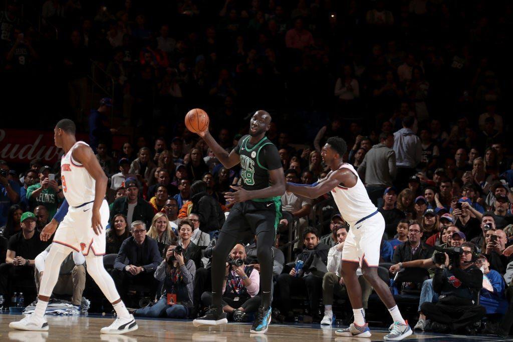 Tacko Fall Celtics contre les Knicks