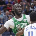 NBA – Pris à parti par des adversaires, Tacko Fall prévient ceux qui voudraient  jouer dirty