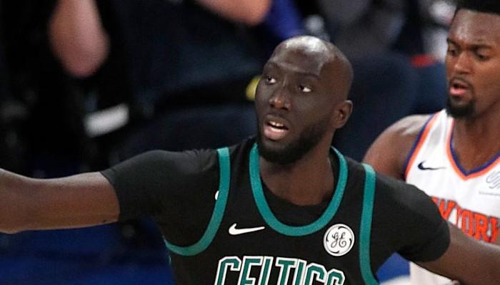 Tacko Fall plante ses premiers points en NBA contre les Knicks