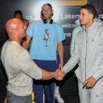NBA – Les invités bien spéciaux aux entraînements des Lakers