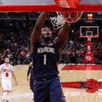 NBA – Zion Williamson a laissé les Bulls bouche bée
