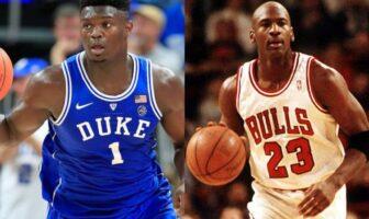 Zion Williamson Michael Jordan