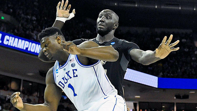 Zion Williamson Tacko Fall