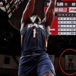 NBA – La grosse performance de Zion contre Chicago motivée par Jordan ?