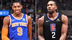 NBA – Le drôle de point commun entre Kawhi Leonard et RJ Barrett