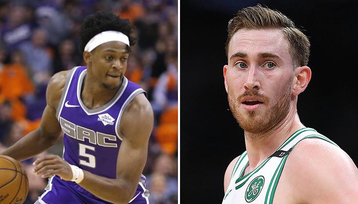 NBA - Les durées d'absence de De'Aaron Fox et Gordon Hayward connues