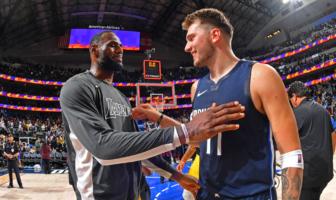 l'échange entre LeBron James et Luka Doncic