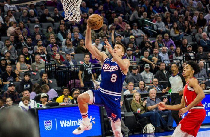 Bogdan Bogdanovic lors de sa grosses performance face à Portland