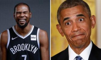 NBA Kevin Durant a lâché un sacré troll a Barack Obama sur Instagram