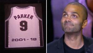 NBA – Le maillot de Tony Parker officiellement retiré, dans une grande émotion