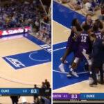 NCAA – Duke humilié au buzzer par la petite fac de Stephen F Austin !