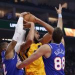 NBA – Les Français de la nuit : Gobert, Fournier et Ntilikina régalent mais dans la défaite