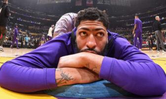 Anthony Davis sous le maillot des Lakers
