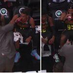 NBA – De grosses tensions sur le banc des Hawks
