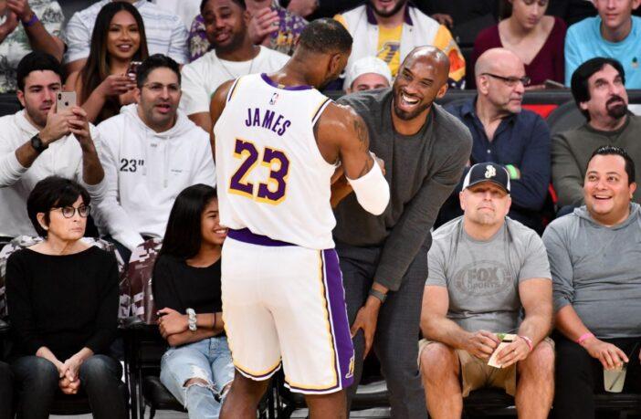 L'hommage appuyé de LeBron James à Kobe Bryant