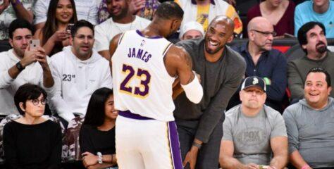NBA – LeBron réagit à son exploit, Kobe Bryant lui envoie un message