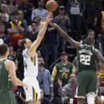NBA – Bogdanovic plante le buzzer-beater pour battre Giannis et les Bucks !