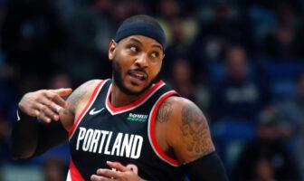 NBA - Les joueurs réagissent au début de Melo avec Portland