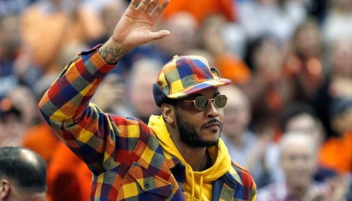 Carmelo Anthony a un message pour la ligue