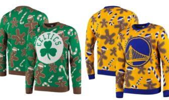 la NBA dévoile les sweats de Noël