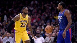 NBA – 4 paris à tenter pour Lakers @ Clippers, jusqu'à 335€ à gagner !