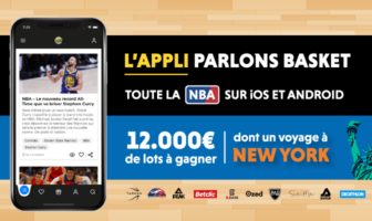 application parlons basket nba