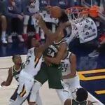 NBA – La tentative de poster ratée de Donovan Mitchell sur Giannis