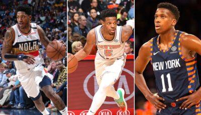 NBA – Le sort d'un meneur déjà fixé chez les Knicks ?