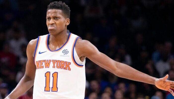 Frank Ntilikina solide face aux Nets