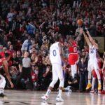 NBA – Le game winner des Sixers contre les Blazers