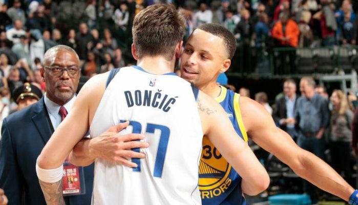 NBA - Le surprenant choix de chaussures de Doncic... félicité par Curry