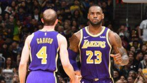 NBA – À peine parti, Alex Caruso regrette déjà sa relation avec LeBron