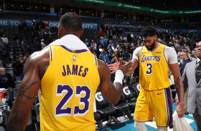 NBA - LeBron réagit aux huées contre Anthony Davis