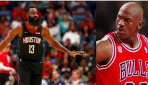 NBA – Un des GOATs met Harden au niveau de Michael Jordan et Wilt Chamberlain !