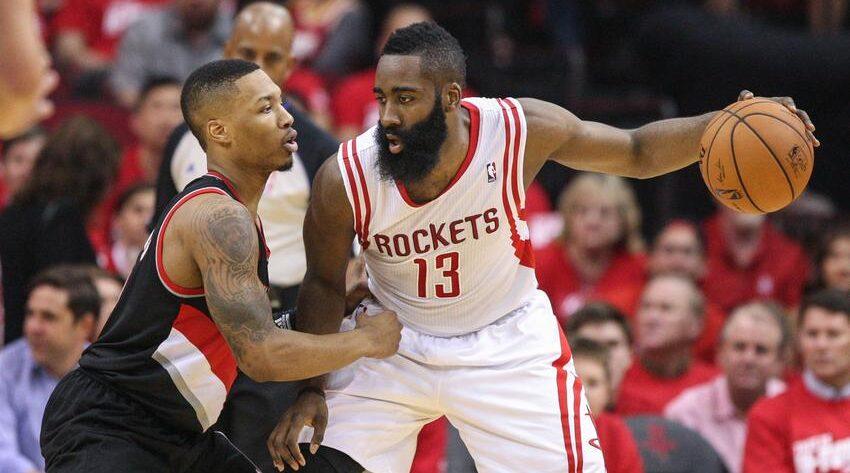 NBA - Le tacle habile de Damian Lillard sur le cas James Harden