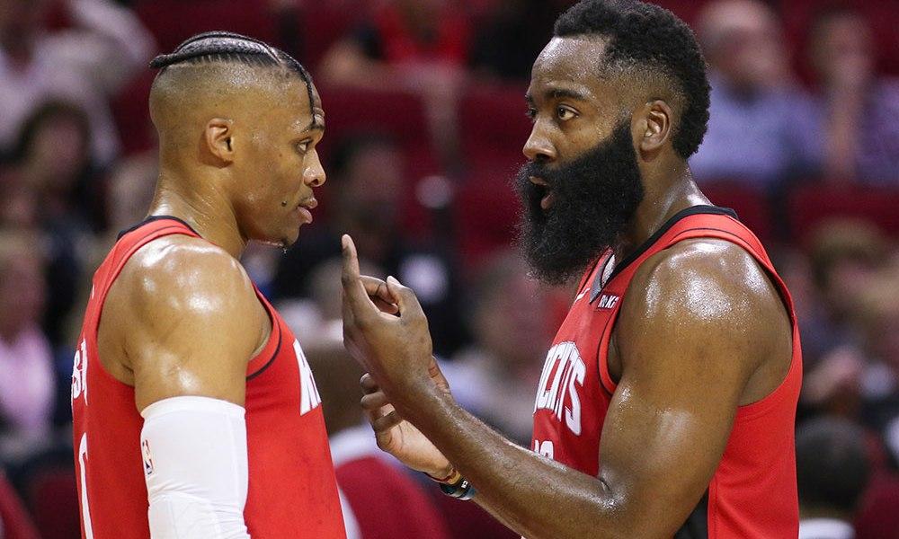 NBA - Russell Westbrook donne un indice sur la hiérarchie entre lui et Harden