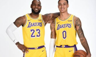 Kyle Kuzma voit 4 Hall of Famers aux Lakers