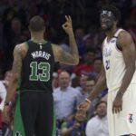 NBA – Joel Embiid taclé par Marcus Morris après leur altercation