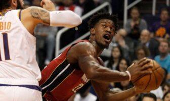 Jimmy Butler prend chaud contre les Suns